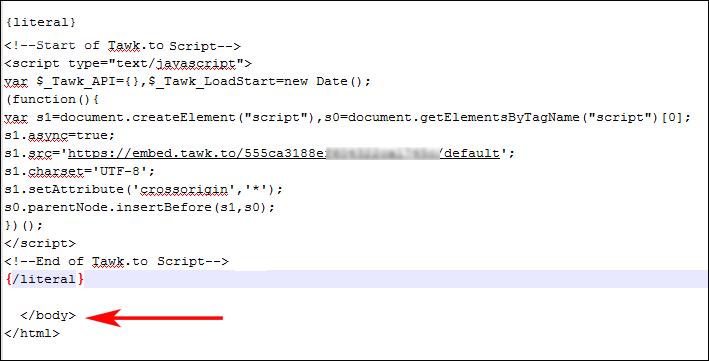 WHMCS-tawk-code-sample