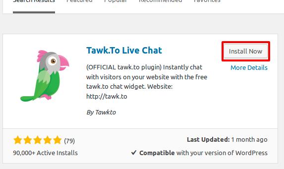 Add a tawk to Widget to WordPress | tawk to