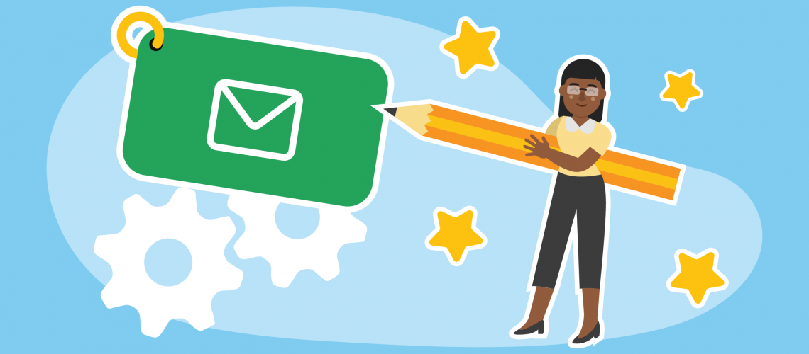 Blog Illustration (Support emails now automatically customized for YOU)_Featured Image